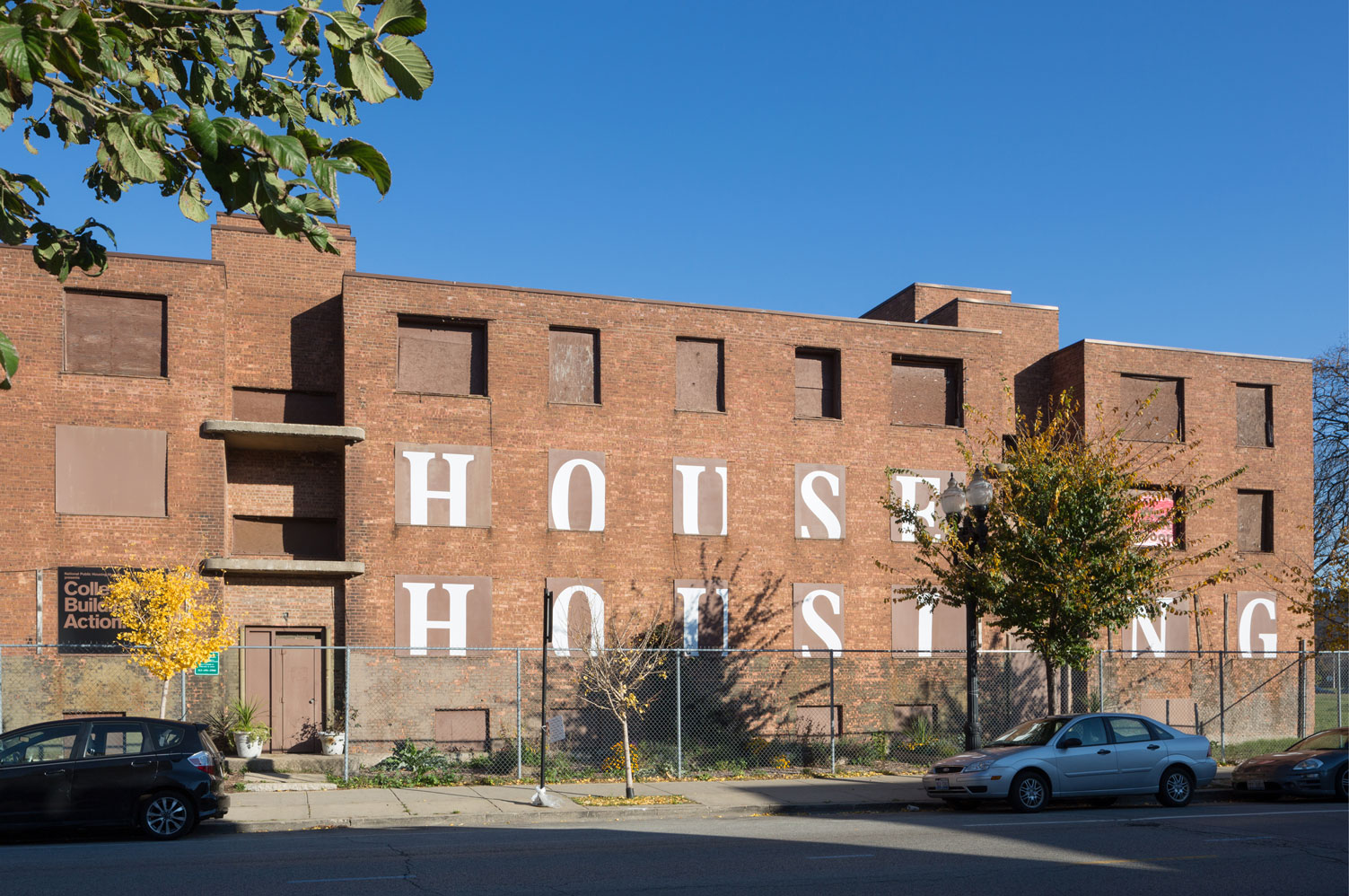 "House Housing: An Untimely History of Architecture and Real Estate in Twenty-Three Episodes; Response by ""We, Next Door,"" National Public Housing Museum, Chicago, IL - MTWTF"