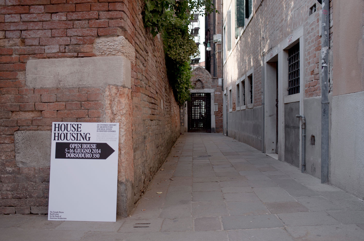 House Housing: An Untimely History of Architecture and Real Estate in Nineteen Episodes, Casa Muraro, Venice  - MTWTF